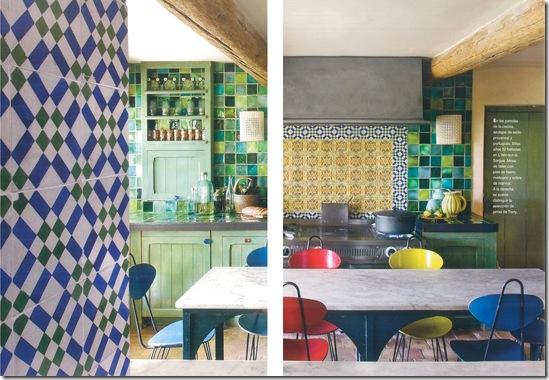 Casa de Valentina - via Côte Sud - cozinha colorida