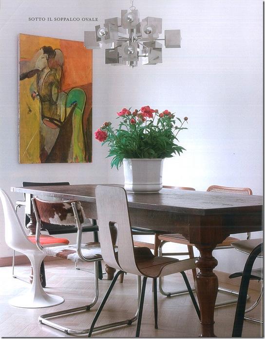 Casa de Valentina - via Marie Claire - cadeiras diferentes