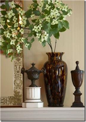 Casa de Valentin - decor de Michael Pertenio - galhos floridos