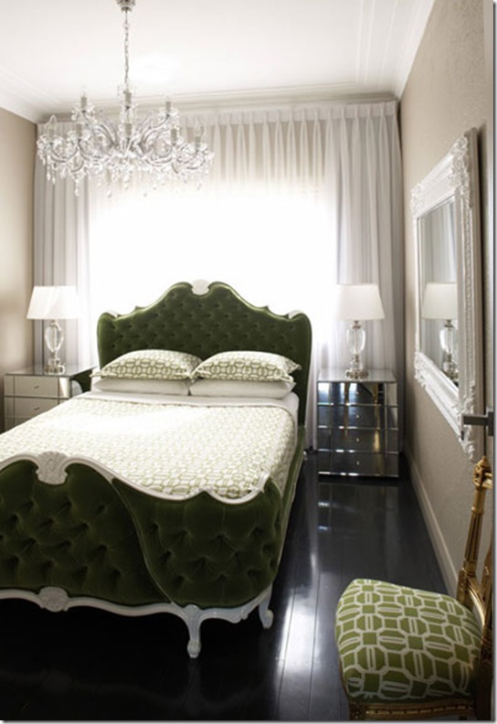 Casa de Valentina - via elements of style - cama de costas para parede 2
