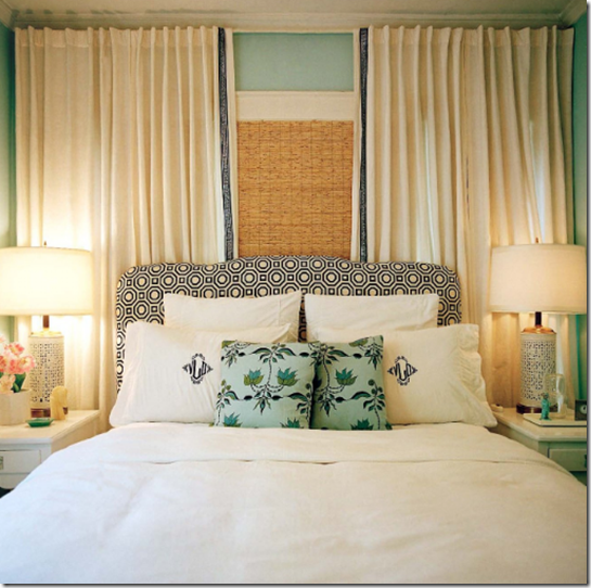 Casa de Valentina - via elements of style - cama de costas para janela 1