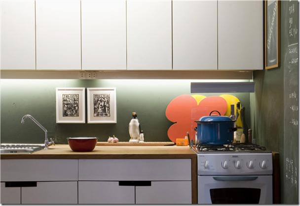 Outra cozinha fotografada pela Fernanda Petelinkar