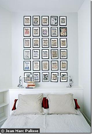 Mais parede repleta de quadros