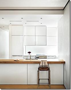 Cozinha aberta porém imperceptível