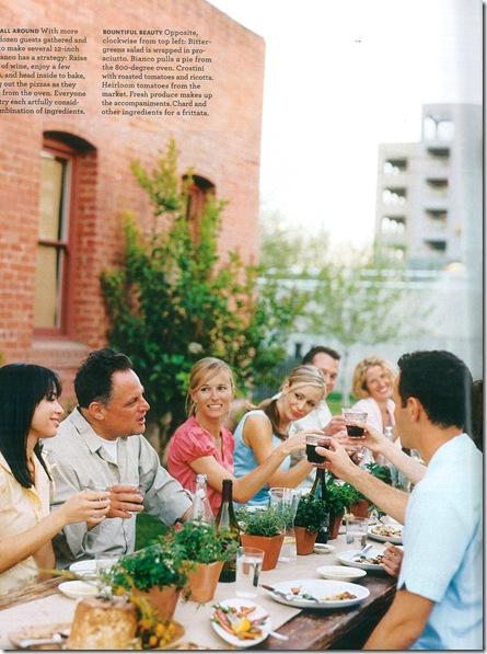 Almoço ao ar livre 2