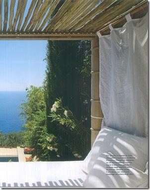 relax com vista para o mar de Capri