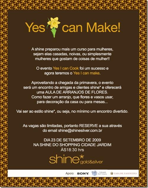 Convite shine