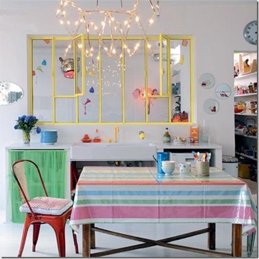 Casa de Valentina - via Marie Claire Maison - sala de jantar