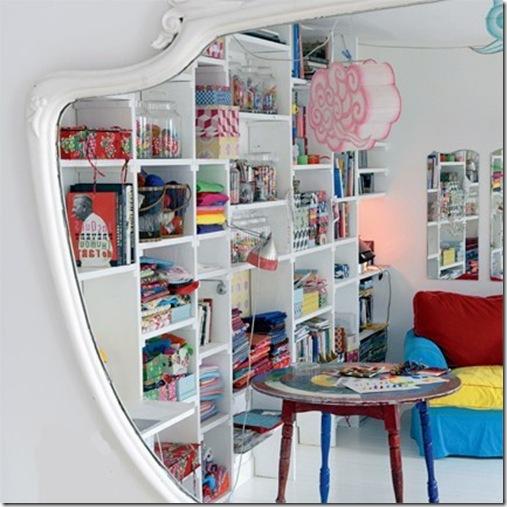 Casa de Valentina - via Marie Claire Maison - reflexo no espelho