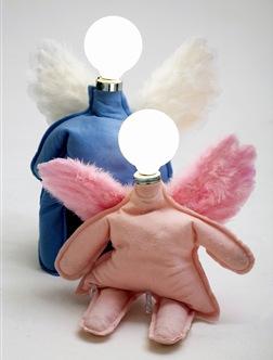 Casa de Valentina - luminárias anjos
