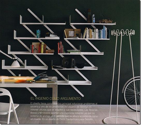 Casa de Valentina - Via Arquitectura Y Diseño - estante geométrica