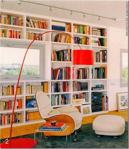 Casa de Valentina - Arquitectura Y Diseño - prateleira para uma sala colorida