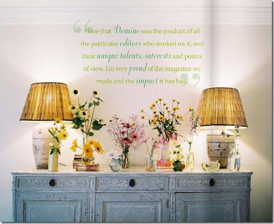 Casa de Valentina - Revista Lonny Magazine - flores na cômoda