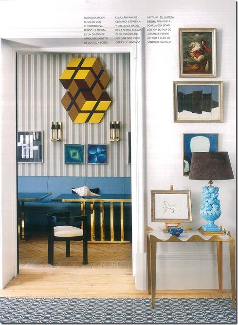 Casa de Valentina - quadros e papel de parede