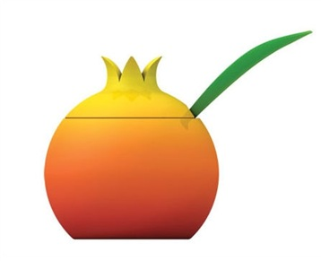 Alesi Fruit Sugar Bowl By Stefano
