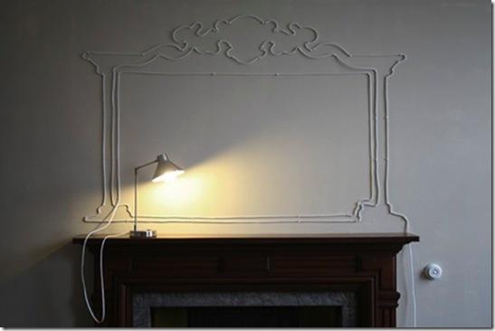 Casa de Valentina - decoração do fio elétrico - bom bonito e barato 1