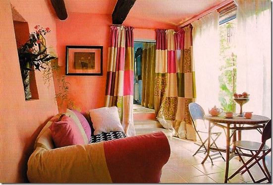 Casa de Valentina - cortina quadriculada