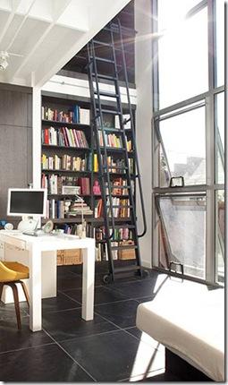 Casa de Valentina - Feldman Architecture - uma casa de 1960 em San Francisco - biblioteca