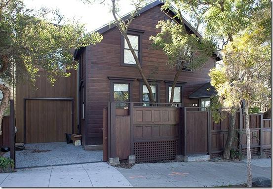 Casa de Valentina - Feldman Architecture - uma casa de 1960 em San Francisco - fachada
