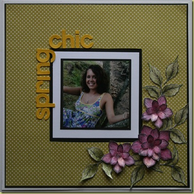 heartfelt creations march 10 Spring Chic