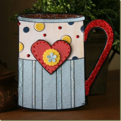blog hop coffee cup card