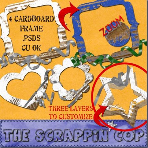 http://thescrappincop.blogspot.com/2009/07/cardboard-frame-psd-set-1.html