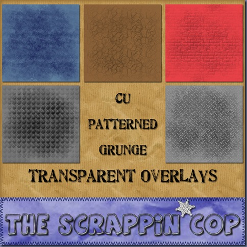 http://thescrappincop.blogspot.com/2009/10/more-cu-patterned-grunge-overlays.html