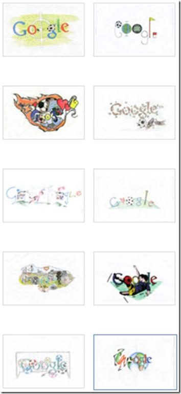 logo italiano google mondiali sudafrica 2010