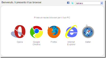 come scaricare Google Chrome  Mozilla Firefox Internet Explorer Opera  Safari