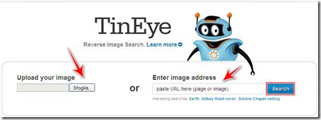 come scoprire immagine copiata originale internet