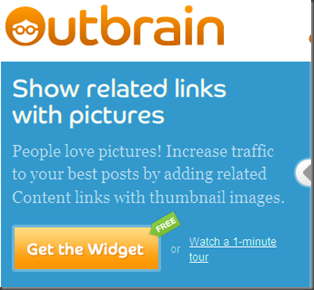 come inserire widget post correlati outbrain