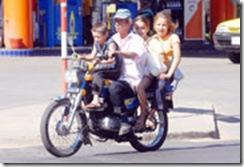 Imprudencia en motos