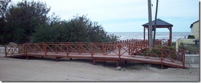 Bajada a la playa de La Lucila