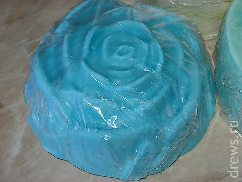 """Желе для душа """"Голубая роза"""""""