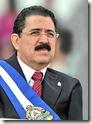 El presidente depuesto Manuel Zelaya