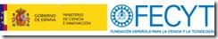 Logo  del FECYT y del  MCI