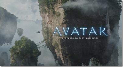 Cartel de «Avatar», la película