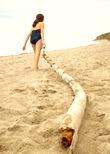 Pulling bamboo Pole - Sheva Apelbaum