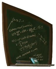 Jimmy's Room Blackboard-Sheva Apelbaum