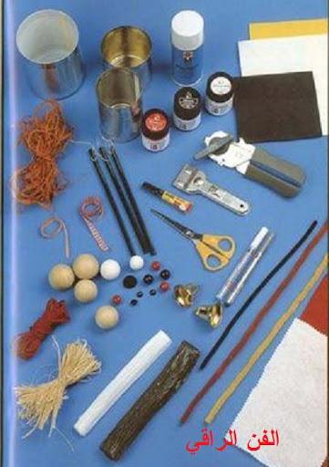 تلوين العلب المعدنية اعمال فنية للطلاب اشغال يدوية