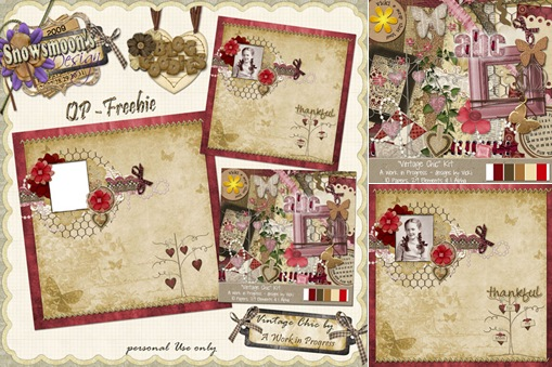 View New kit by A Work in Progess aka Vicki @ Scrap That Idea