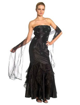 Prom Dress With Ruffles