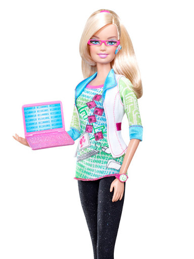 Barbie became the programmer