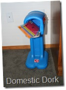 toy mail box mailbox play