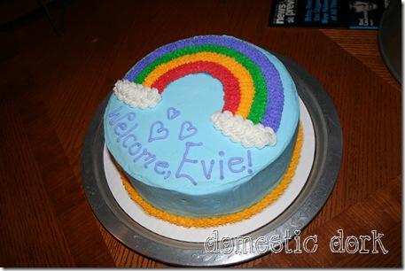 Wilton cake decorating class rainbow