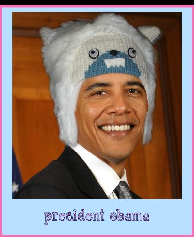 obama yeti hat