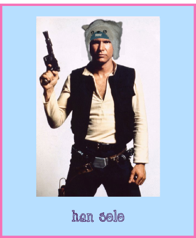 han solo star wars yeti hat