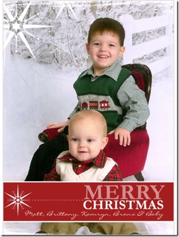 shutterfly xmas card 2010