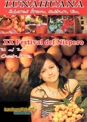 Afiche del Festival Nispero 2009