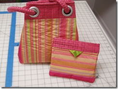 grids purse snap purse